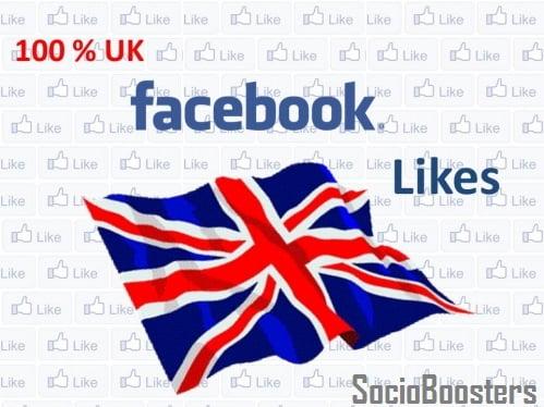 Buy UK Facebook likes -socioboosters