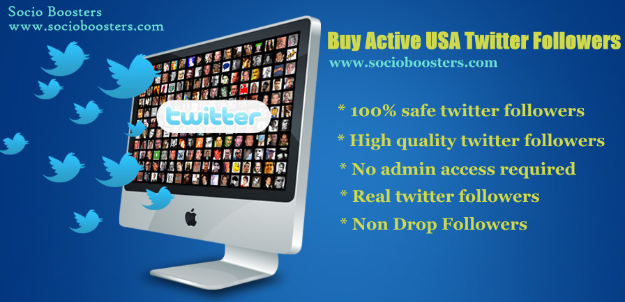 Buy Active USA twitter followers