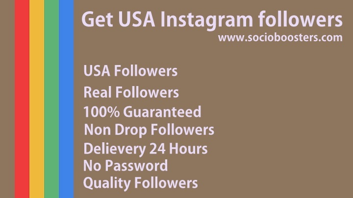 get USA instagram followers