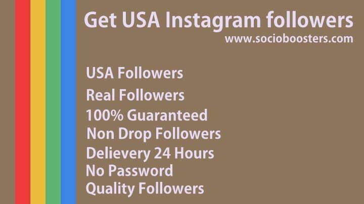get USA instagram followers