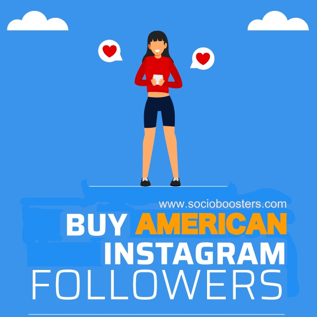 Buy American Instagram followers